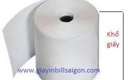 Giấy in hóa đơn điện nước (giấy in nhiệt) K57x40mm