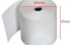Giấy in nhiệt (giấy in bill, giấy in hóa đơn tính tiền) K57x60