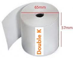 Giấy in nhiệt (giấy in bill, giấy in hóa đơn tính tiền) K57x65
