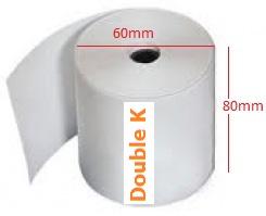 Giấy in nhiệt (giấy in bill, giấy in hóa đơn tính tiền, giấy in bill cỡ 80) K80-60