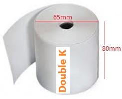 Giấy in nhiệt (giấy in bill, giấy in hóa đơn tính tiền) K80x65