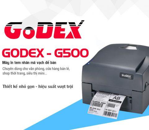 Máy in tem nhãn mã vạch Godex G500