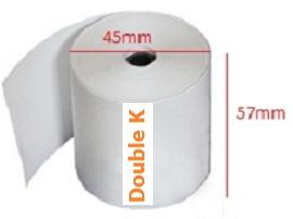 giấy in nhiệt (giấy in bill, giấy in hóa đơn tính tiền) K57x45