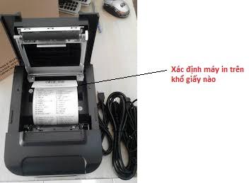 Xác định khổ giấy cho máy in tính tiền