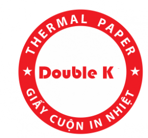 Giấy cuộn in nhiệt Double K