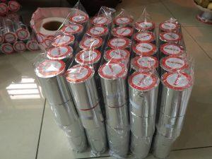 Qui cách đóng gói giấy in hóa đơn điện nước (giấy in nhiệt) K57x40mm