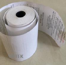 giấy nhiệt dùng làm giấy in hóa đơn điện nước (giấy in nhiệt) in quảng cáo K57