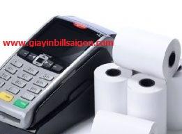 Giấy in hóa đơn dành cho máy cà thẻ K57x38mm Double K