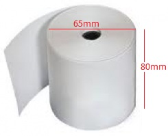 Giấy in nhiệt (giấy in bill, giấy in hóa đơn tính tiền, giấy in hóa đơn cho máy in nhiệt) K80x65